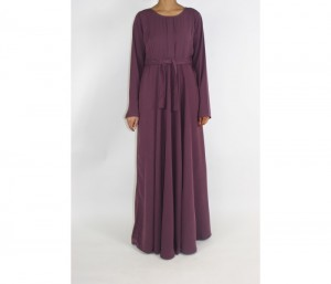 Plum Colored Maxi Dress